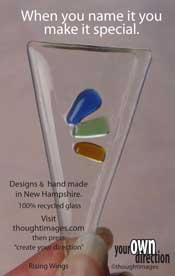 Triangular touchstone shape shield